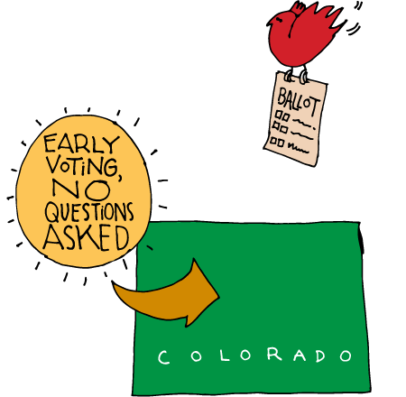 Colorado Has Early Voting