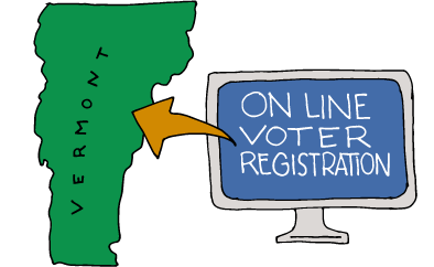 Vermont Has Online Voter Registration
