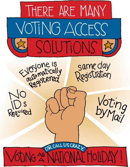 There Are Many Voter Access Solutions